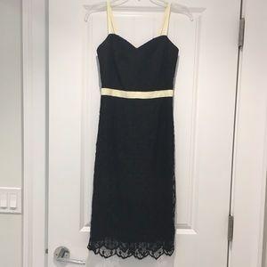 ⭐️ Milly of New York Black Lace Dress EUC